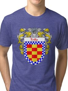 Trillo Coat of Arms/Family Crest Tri-blend T-Shirt