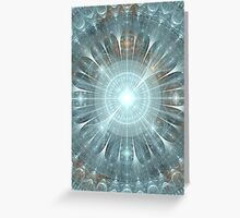 Christmas Gothic Cathedral Window Greeting Card
