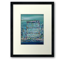 UNITED NATIONS HEADQUARTERS Framed Print
