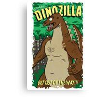 Dinozilla Canvas Print