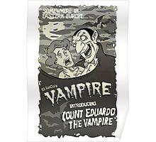 Vampire BW Poster