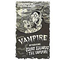 Vampire BW Photographic Print