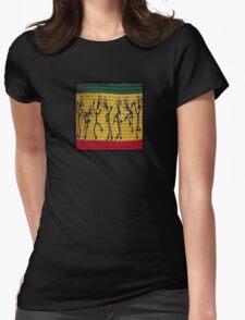 lively reggae dancers (square) front T-Shirt