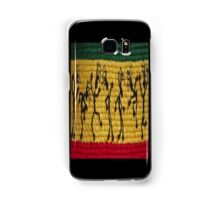lively reggae dancers (square) front Samsung Galaxy Case/Skin