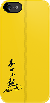 Bruce Lee Jumpsuit - (iPhone) by Adam Angold