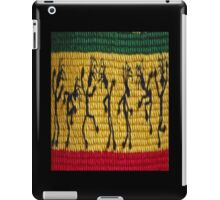 lively reggae dancers (square) front iPad Case/Skin