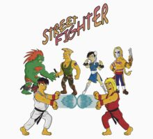Street Fighter - Simpsonized by kazkami