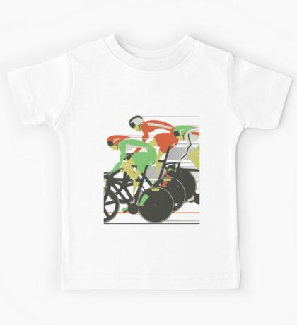 Velodrome bike race Kids Clothes