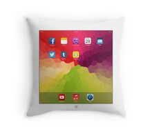 iPillow (in white) Throw Pillow