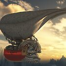 Steampunk Airship by Syd Baker