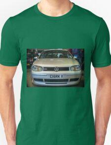 Silver VW Golf GTi Unisex T-Shirt