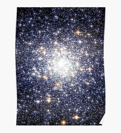 Cluster Galaxy 3   The Universe by Sir Douglas Fresh Poster