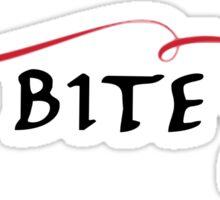 The vampire diaries-Bite me Sticker