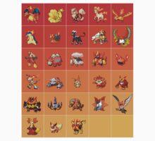 Fire Pokemon by DaTico