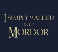 I simply walked into Mordor by digerati