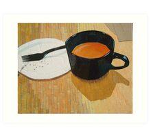 """Coffee shop"" Art Print"