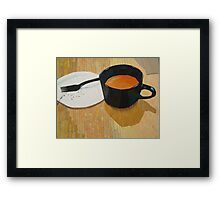 """Coffee shop"" Framed Print"