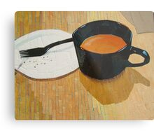 """Coffee shop"" Metal Print"