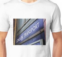Transport. What would we do without it? Unisex T-Shirt