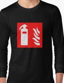 Fire Extinguisher Long Sleeve T-Shirt