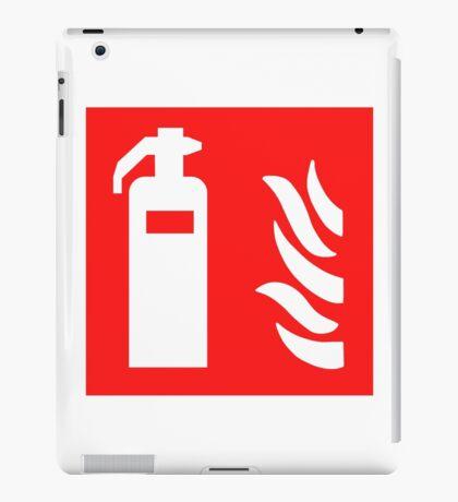 Fire Extinguisher iPad Case/Skin