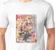 Chaotic War Abstract Painting Unisex T-Shirt