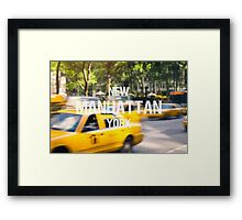 Manhattan Framed Print