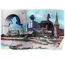 Russian Landscape. Poster