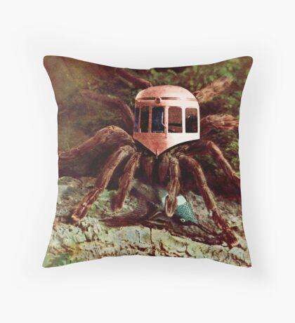 Bird Eating Spider. Throw Pillow