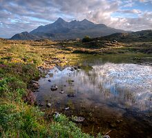 Sligachan looking towards the Cuillin by Guy  Berresford