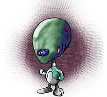 Alien Buddy 11 Brainiac by OliverDemers