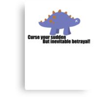 Curse your sudden but inevitable betrayal! - Firefly Canvas Print