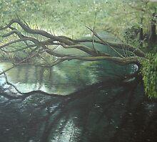 Lymington River by Charlotte Rose