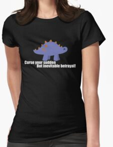 Curse your sudden but inevitable betrayal! - Firefly Womens Fitted T-Shirt