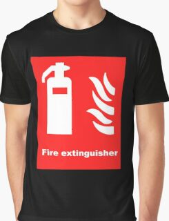 Fire Extinguisher Graphic T-Shirt