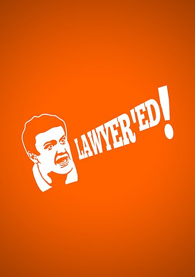 Boom! Lawyered! by Hume Creative