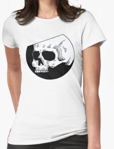 Graphic round white skull T-Shirt