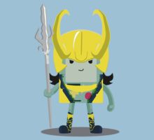 Loki-Mo: The God of Cheats! Kids Clothes