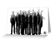 The Crowd Greeting Card