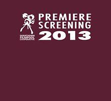 Saskatchewan Filmpool Cooperative Premiere Screening 2013 Womens Fitted T-Shirt