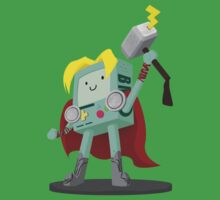Thor-Mo: The God of Video Games Kids Clothes