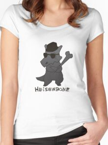 Heisenbone - Cool Gray Women's Fitted Scoop T-Shirt