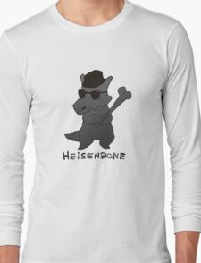 Heisenbone - Cool Gray Long Sleeve T-Shirt