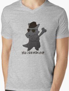Heisenbone - Cool Gray Mens V-Neck T-Shirt