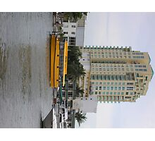 Fla Water Taxi Photographic Print