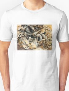 Boccioni - Charge of the Lancers T-Shirt