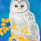 Ural Owl by AngelArtiste