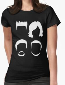 Bastille Hair Design with Dan Will Kyle and Woody in White Womens Fitted T-Shirt