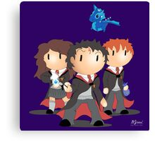 Harry Potter Stomp Collective Canvas Print