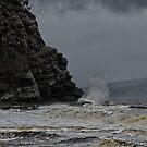 Alum Cliffs, Kingston, Tasmania by Keith Midson